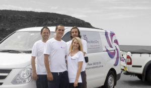 The Team of professional upholstery, carpet and floor cleaning specialists at Pro Wet & Dry
