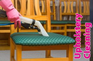 Upholstery Cleaning in commercial businesses