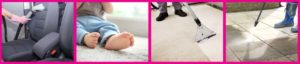 Professional cleaning services by Pro Wet & Dry for cleaner upholstery, carpets and floors.